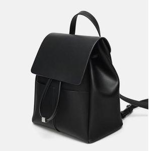 Zara Everyday Black Backpack 🎒